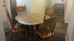 Table With 4 Chairs for Sale in Denver, CO