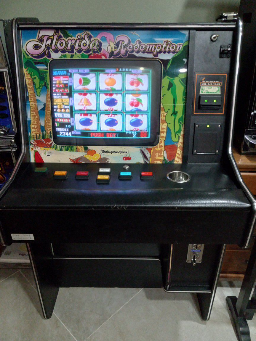 Cherry Master Redemption Full Size Machine With Keys