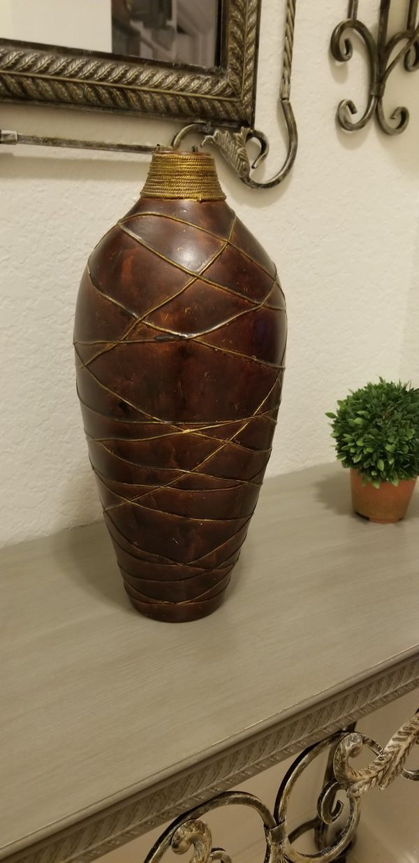 Tuscan Accent Home Decor Vase For Sale In Miramar FL