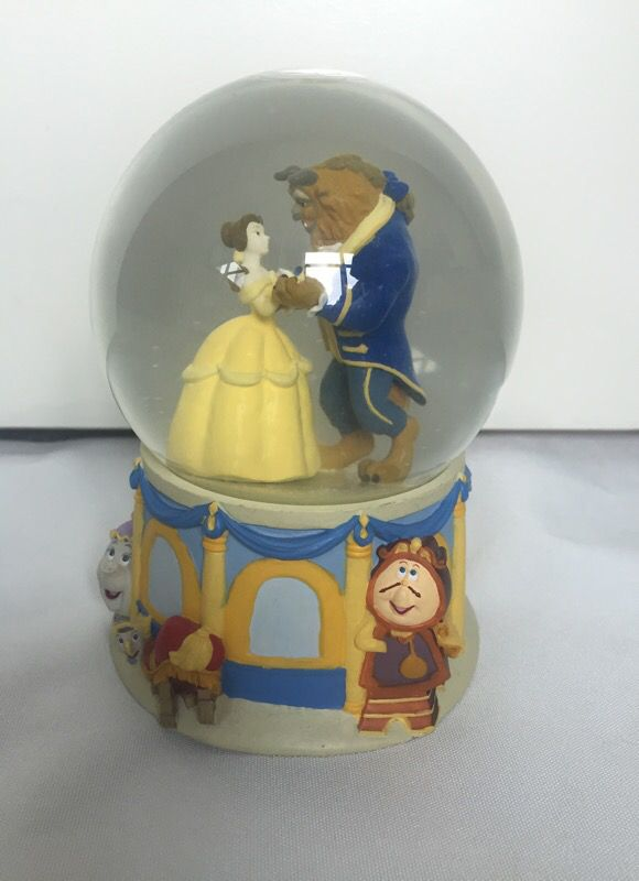 Disney Beauty And The Beast Snow Globe For Sale In Chicago Il Offerup