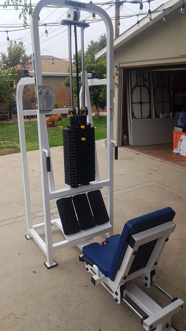 Leg Press For Sale >> Gym Equipment Atlantis Leg Press For Sale In San Fernando Ca Offerup