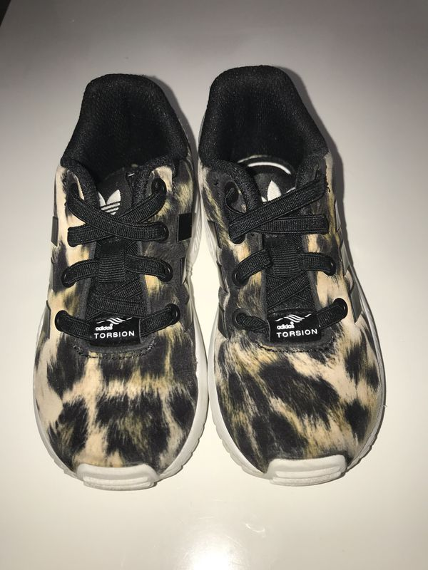 4a6d7788e56108    Girl Cheetah Adidas size 7C only  20    for Sale in Sacramento