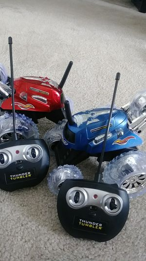 Thunder tumbler remote control car for Sale in Lansdale, PA