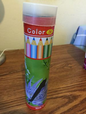 24 color pencils for Sale in Pittsburgh, PA
