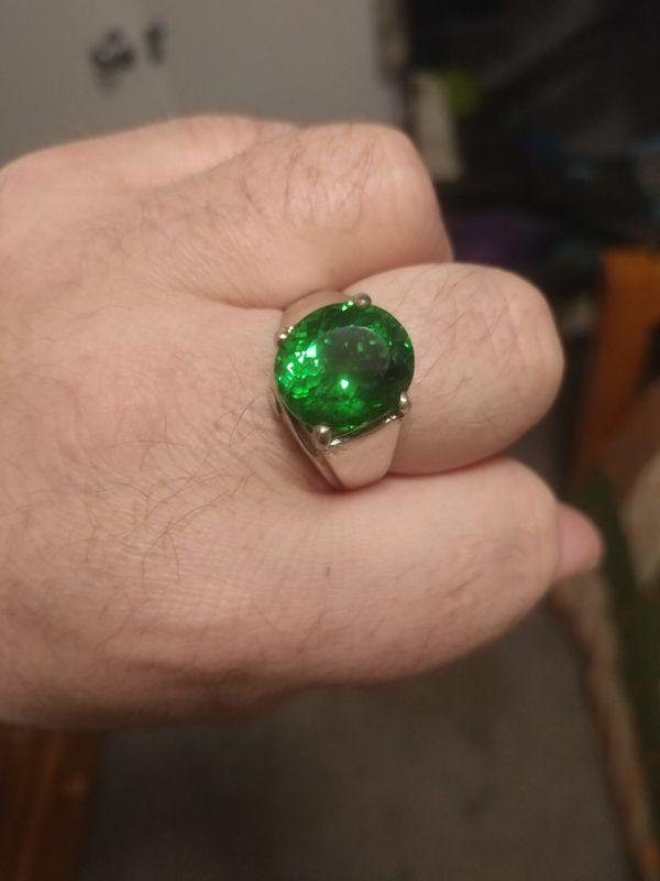 Mens Sz 11 genuine Moldavite Ring for Sale in Idaho Falls, ID - OfferUp