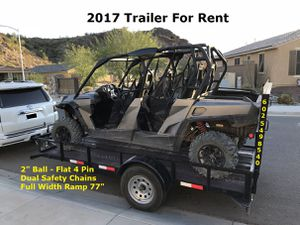 """Trailer - 76"""" x 12' - $35 / Day - 59 ave / Bell Rd for Sale in Phoenix, AZ"""