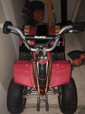 Razor electric all weather all terrain quad four wheeler for Sale in Chantilly, VA