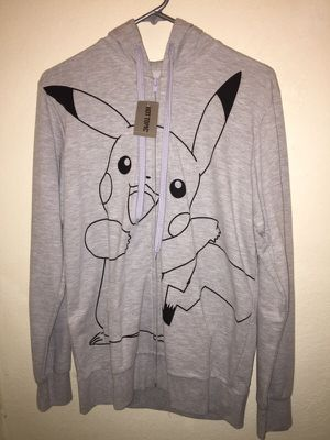 f4692fbb495 Pikachu Pokemon zip up hoodie for Sale in Hacienda Heights