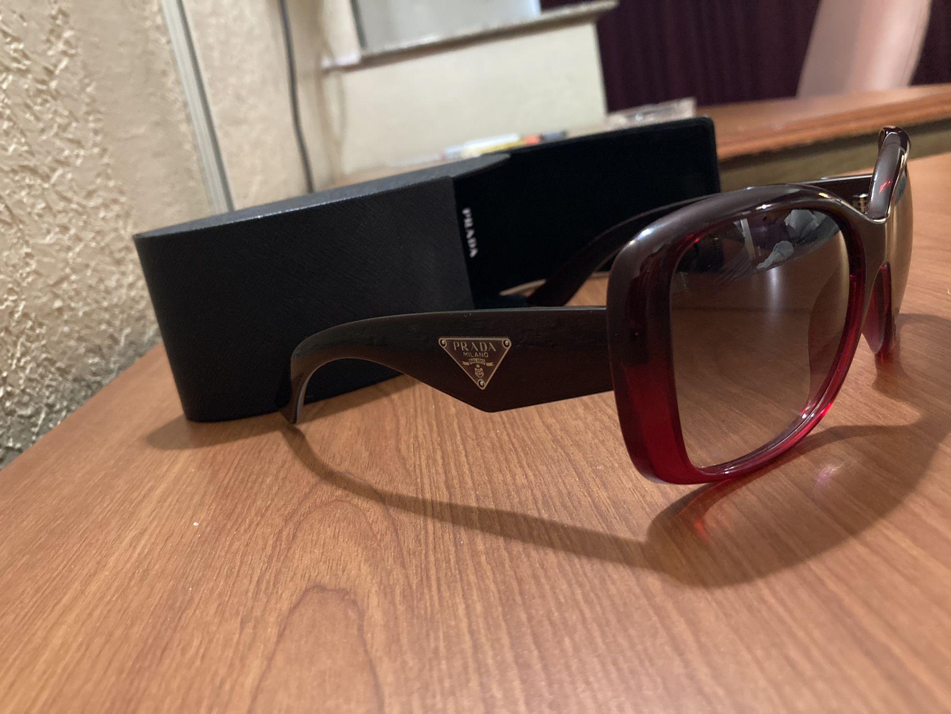 New  Prada Triangle 32PS Sunglasses