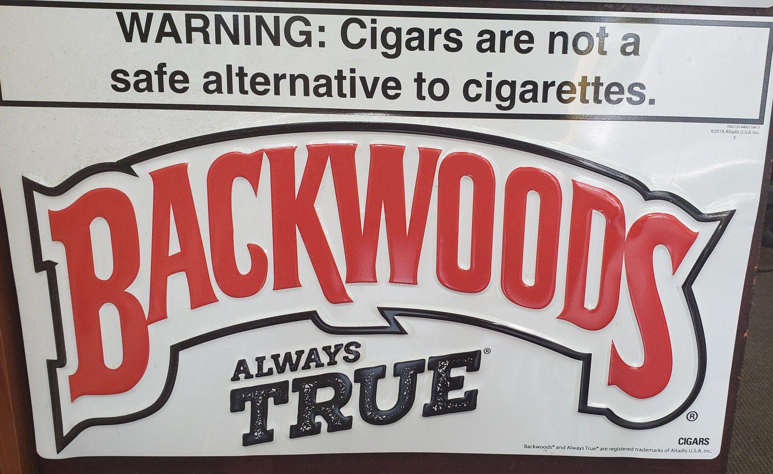 Authentic Blackwoods sign