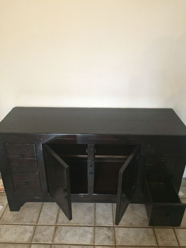 Pottery Barn TV Console Table For Sale In Keller TX OfferUp - Pottery barn tv table