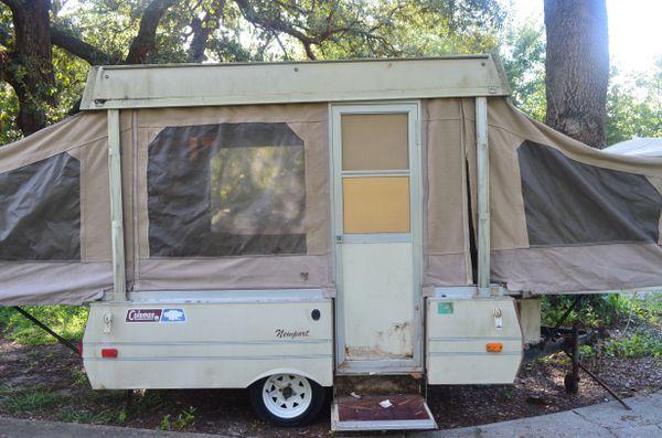 Coleman Newport Pop Up Camper Trailer for Sale in Apopka, FL - OfferUp