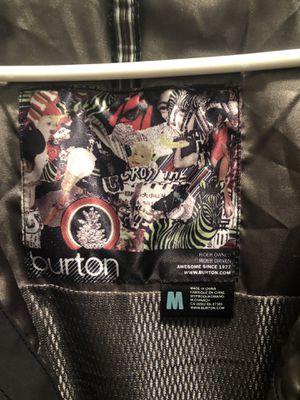 Burton Snowboard GORTEX Jacket Black & Silver Unisex, Size M for Sale in Las Vegas, NV