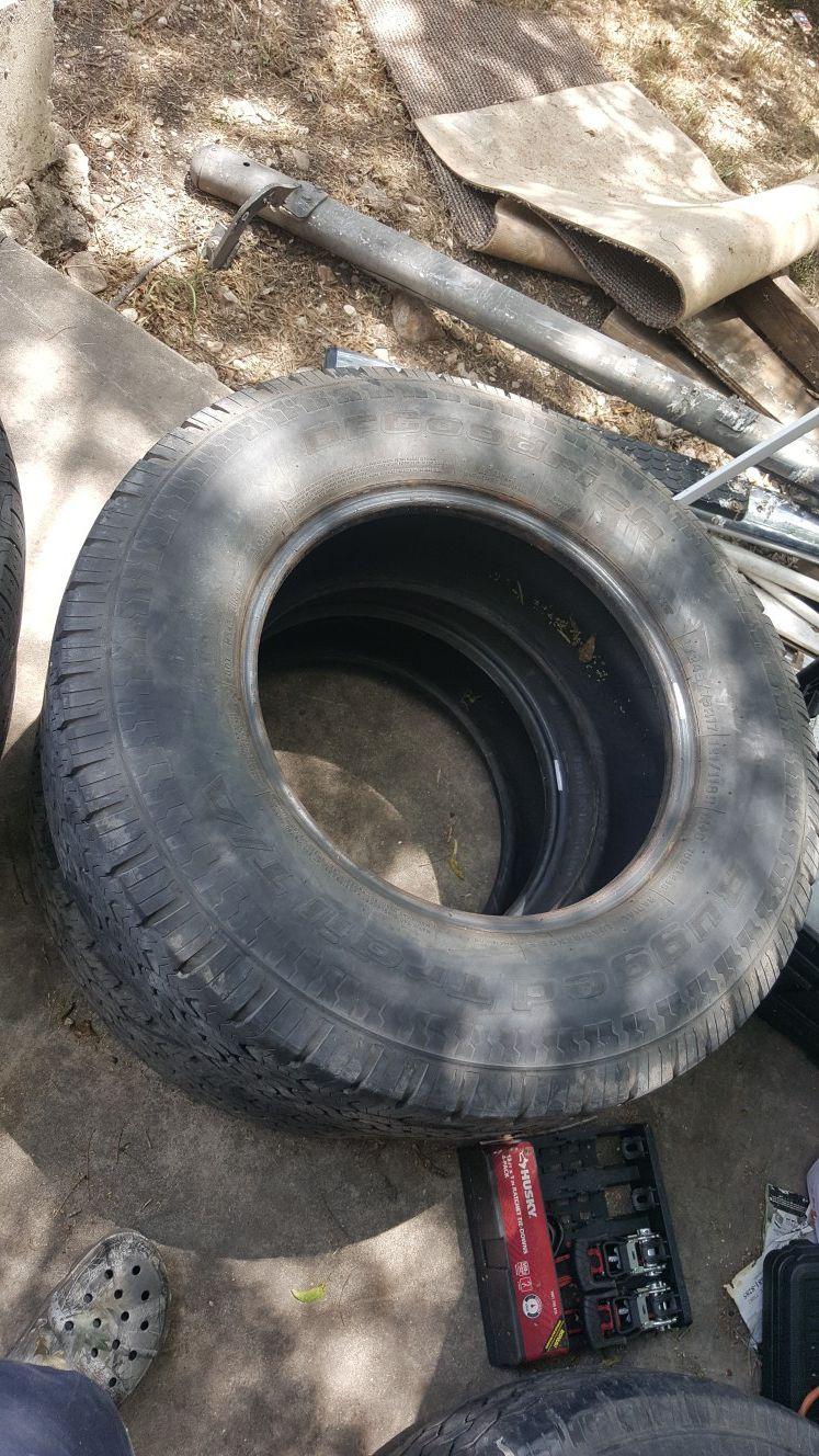 4/ 17 in tires truck