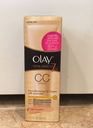 Olay Total Effects CC cream for Sale in Fort Hunt, VA