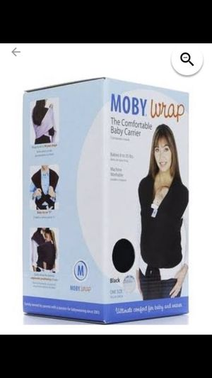 Moby wrap baby Carrier for Sale in Richmond, VA