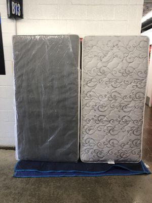 Serta twin mattress and board $135 for Sale in Gaithersburg, MD