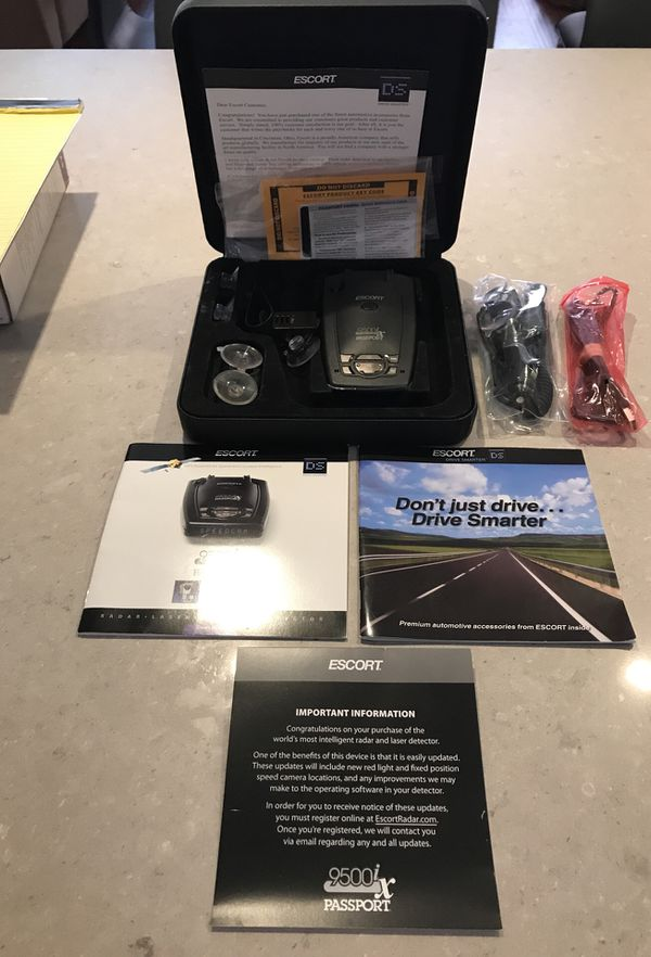 Passport Radar Detector >> Escort 9500ix Passport Radar Laser Detector Completely Remanufactured To Brand New Condition Escort Beltronics Cobra Wasp Cam For Sale In