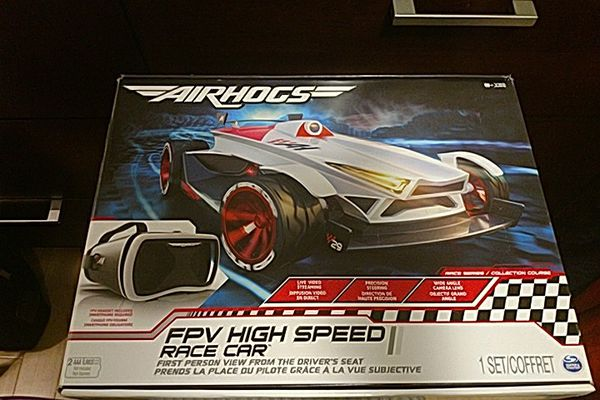 Air Hogs Fpv High Speed Race Car With Headset And App For Sale In