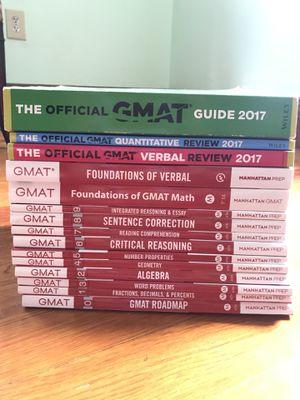 2017 GMAT Prep Books for Sale in Boston, MA