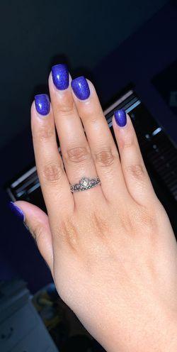 Pandora Princess Ring Size 7 Thumbnail