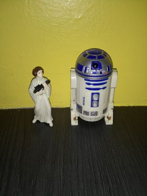 Star wars r2d2 Leia figure toy collectable for Sale in Galloway, NJ