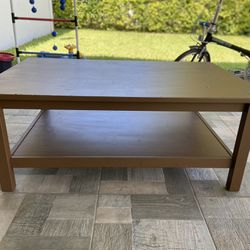 Wood Low Table Thumbnail