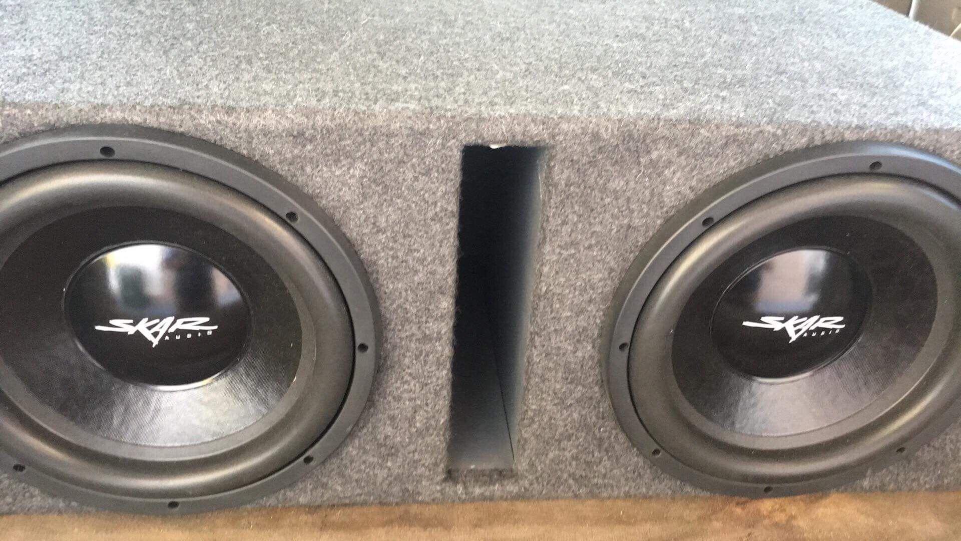 2 12's skar audio