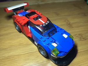Lego 2016 Ford GT from Speed Champions set 75881 for Sale in Inglewood, CA