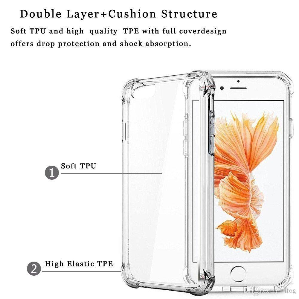 iPhone X XR phone case cover clear bumper