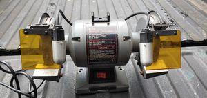 Photo Craftsman bench grinder