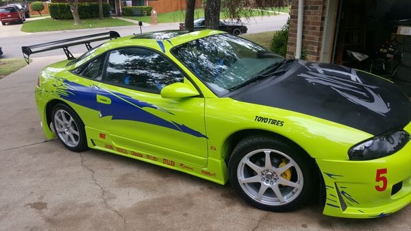 mitsubishi eclipse gst fast and furious brian o connor paul walker replica tribute car for sale in denton tx offerup mitsubishi eclipse gst fast and furious brian o connor paul walker replica tribute car for sale in denton tx offerup