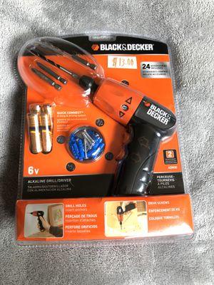 Photo Black & Decker drill