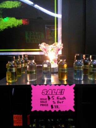 Scented oils for oil burners