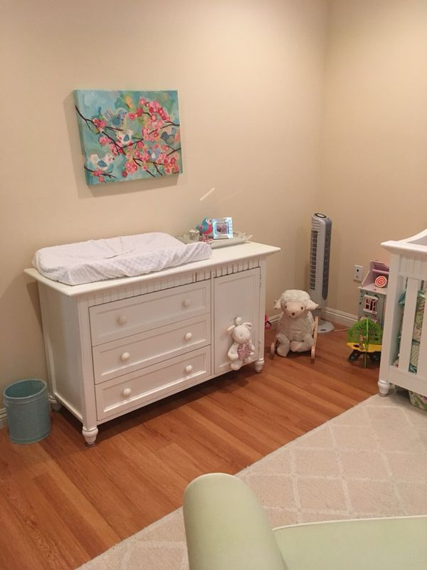 Babi Italia White Changing Table Dresser Combo For In