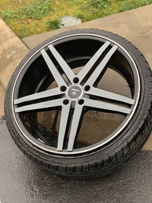 Photo 20 inch 5 star rims for sale!