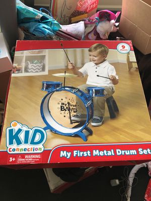 Brand new kid connection my first metal drum set for Sale in Gainesville, VA