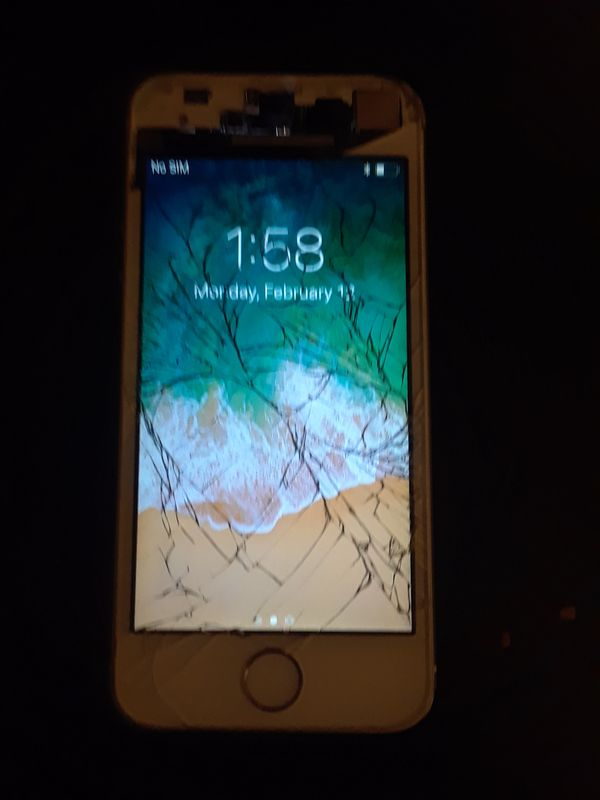 iphone 5s cracked screen for sale in port st lucie fl offerup