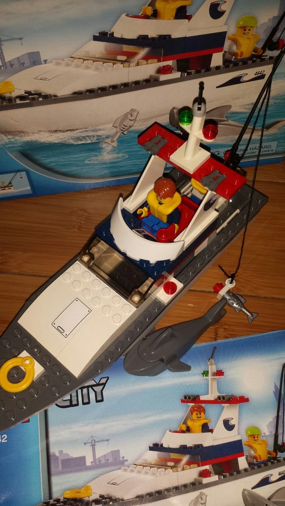 Lego City Boat Complete With Box And Instructions For Sale In Carson