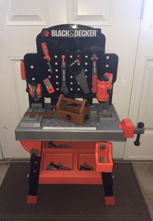 Black & Decker Kids Power Tool Bench Workshop Extra Tools for Sale in Middletown, DE