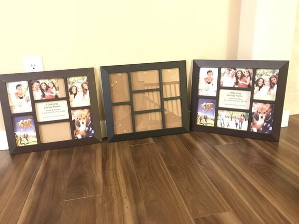 7 Opening Collage Frame Holds 7 Photos 4x6 For Sale In Arlington