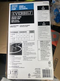 *NEW* Submersible Utility Pump Thumbnail