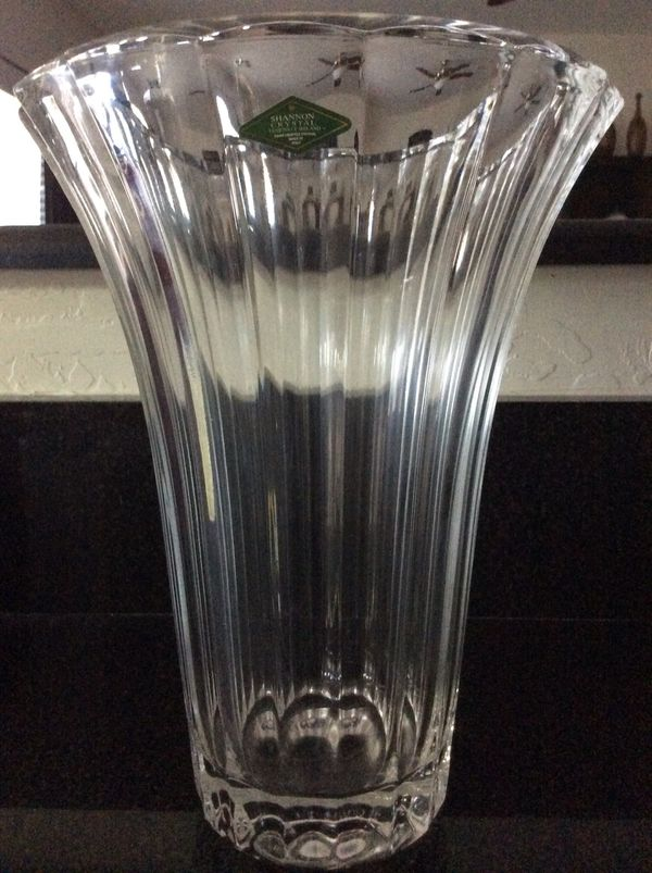 Shannon Crystal Vase For Sale In Phoenix Az Offerup