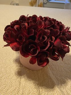 Flower bouquet 8in x 6in round Thumbnail
