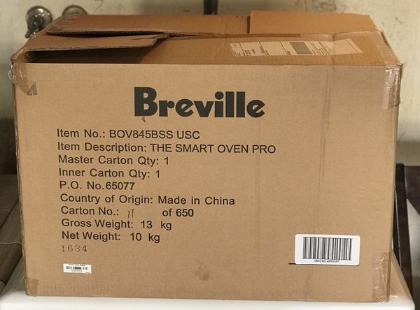 Brand New In Box Breville Smart Oven Pro For Sale In