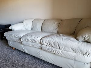 Strange New And Used Leather Couch For Sale In Albuquerque Nm Offerup Dailytribune Chair Design For Home Dailytribuneorg