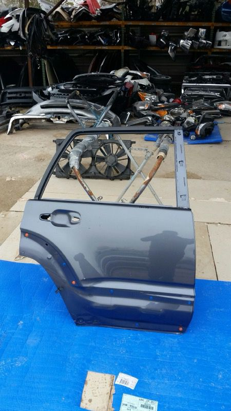 2006-2009 Toyota 4runner Right Rear Door For Sale In Houston  Tx