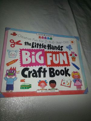 Craft book 2-to 6 years for Sale in Washington, DC