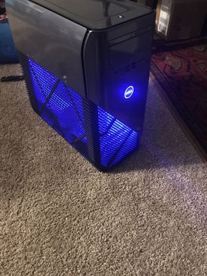 Dell - Inspiron Desktop - Intel Core i5 - 8GB Memory - NVIDIA GeForce GTX 1060 - 1TB Hard Drive + 128GB Solid State Drive - Recon Blue for Sale in MONTGOMRY VLG, MD