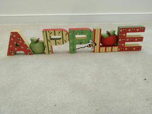 Apple Kitchen Decor for Sale in Midlothian, VA